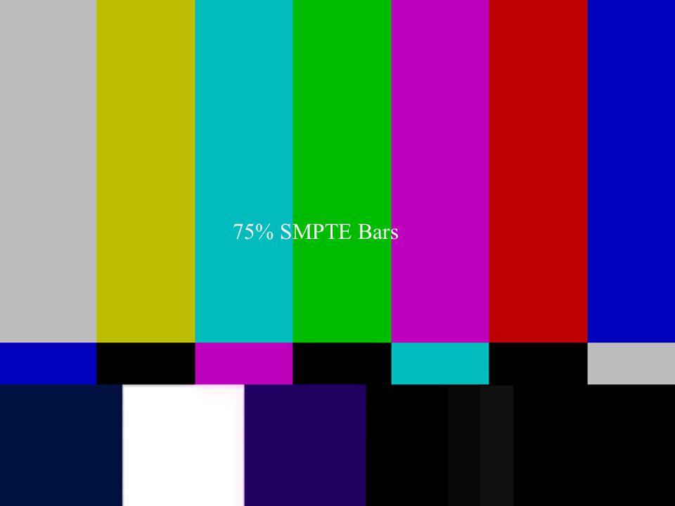 75% SMPTE Bars