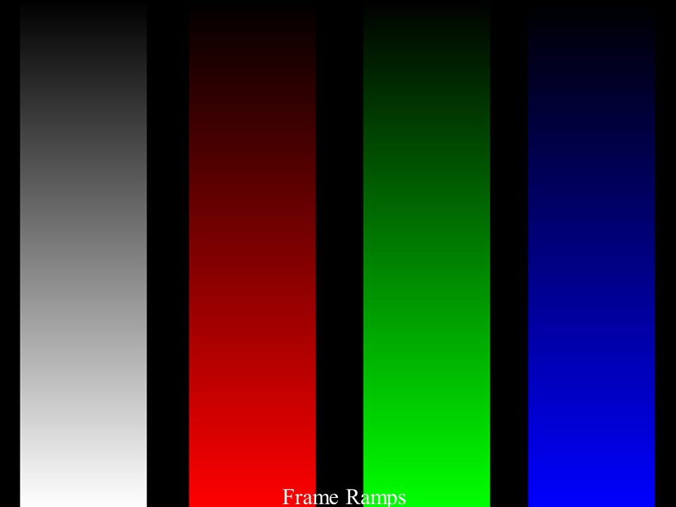 Frame Ramps