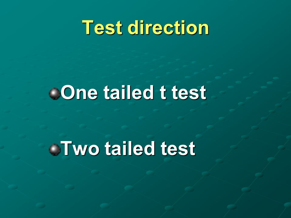 T-test 1.Test for single mean Whether the sample mean is equal to the predefined population mean ?.