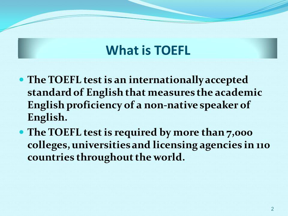 TOEFL 1