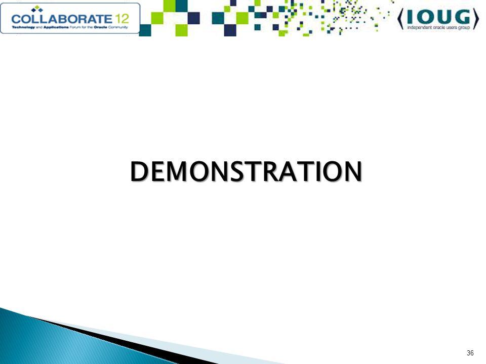 DEMONSTRATION 36