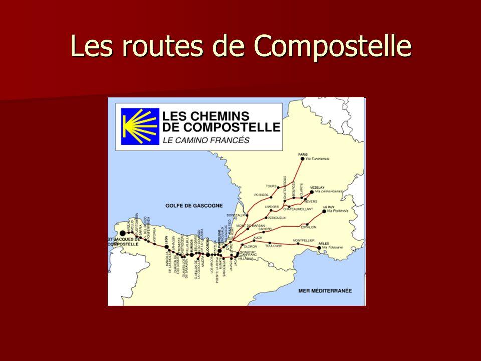 Les routes de Compostelle