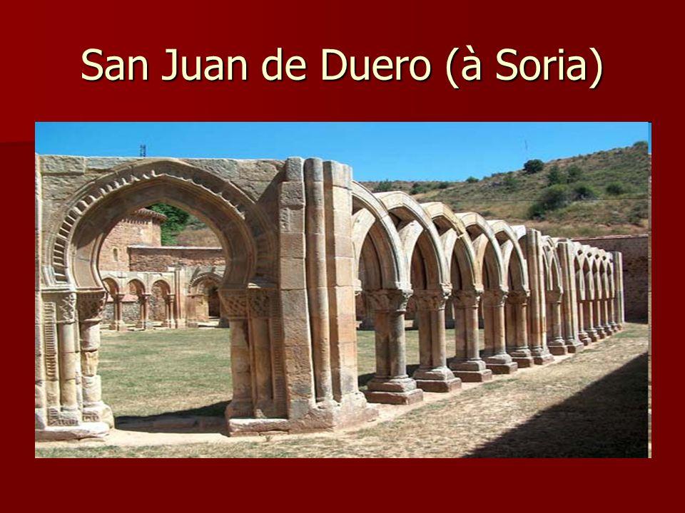 San Juan de Duero (à Soria)