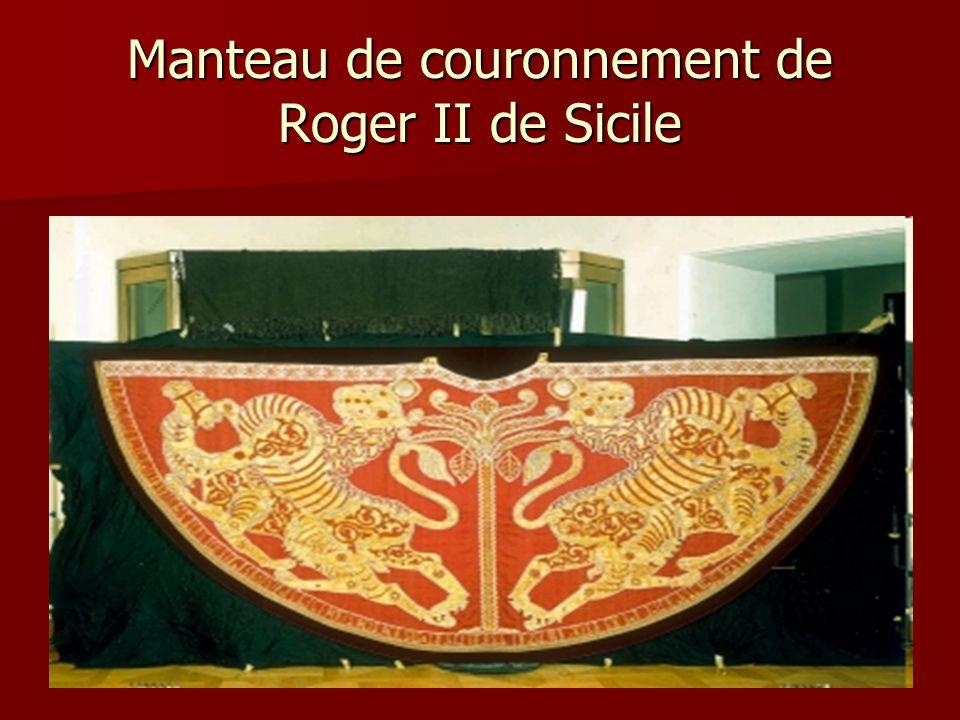 Manteau de couronnement de Roger II de Sicile