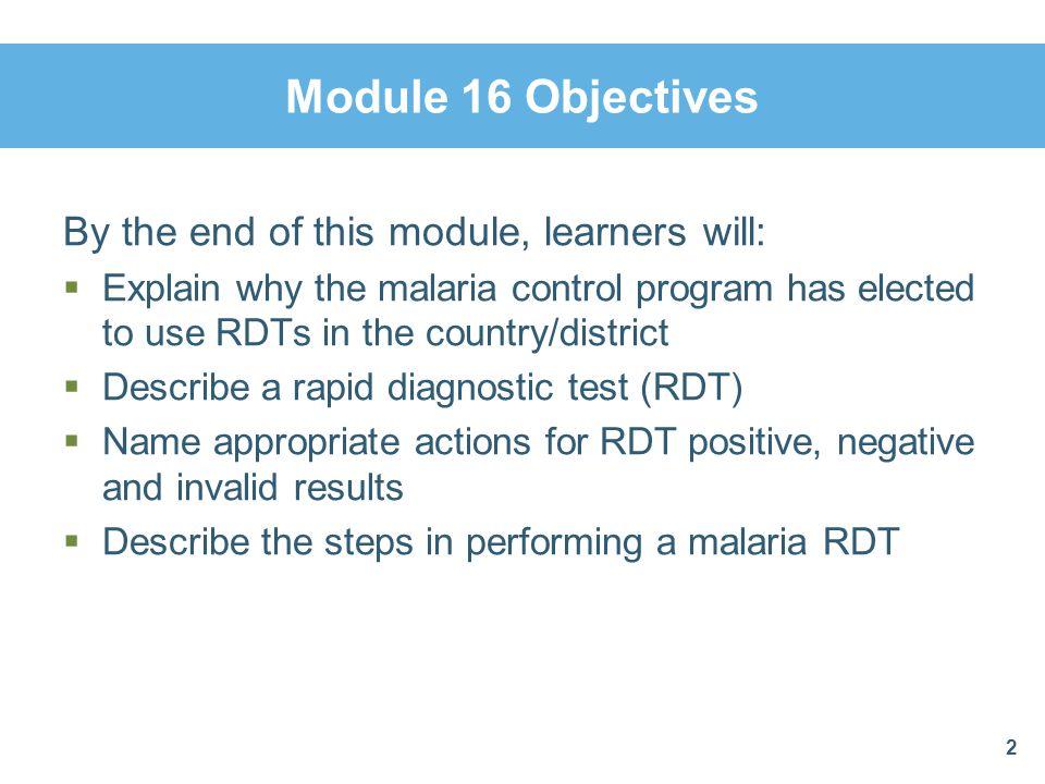 RDT Performance ChecklistProcedure 2 ProcedureTask 2.