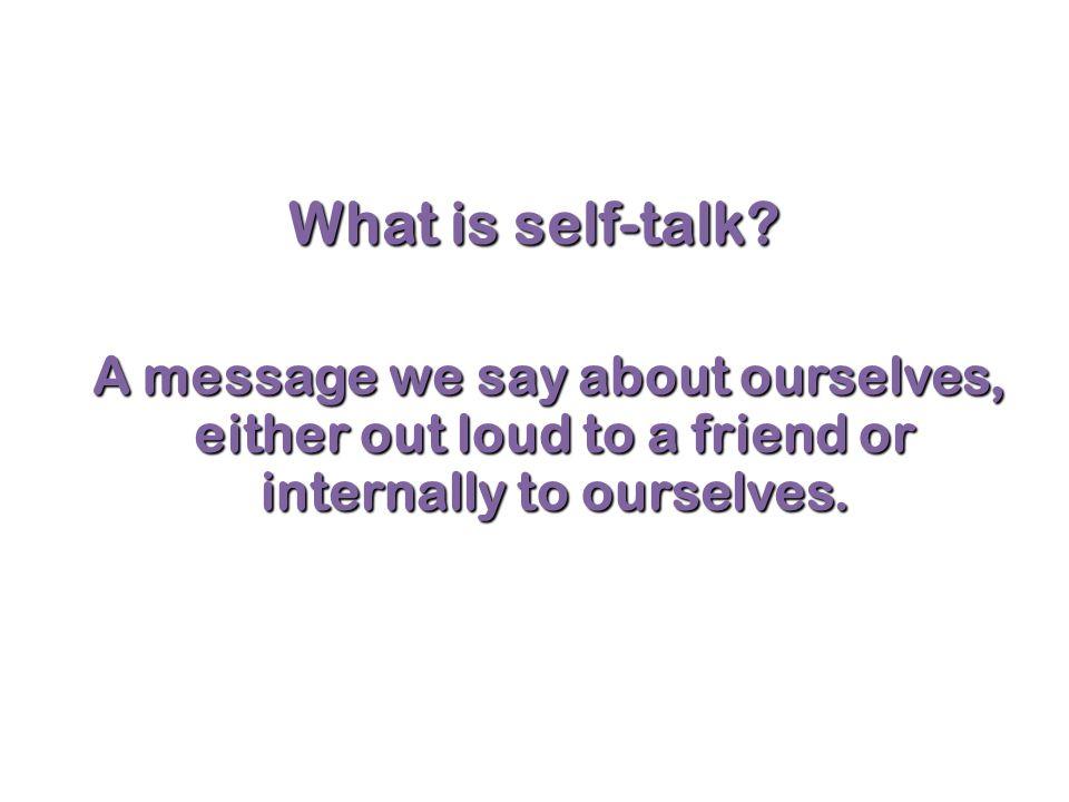 Test Anxiety Attitude – Practice positive self-talk