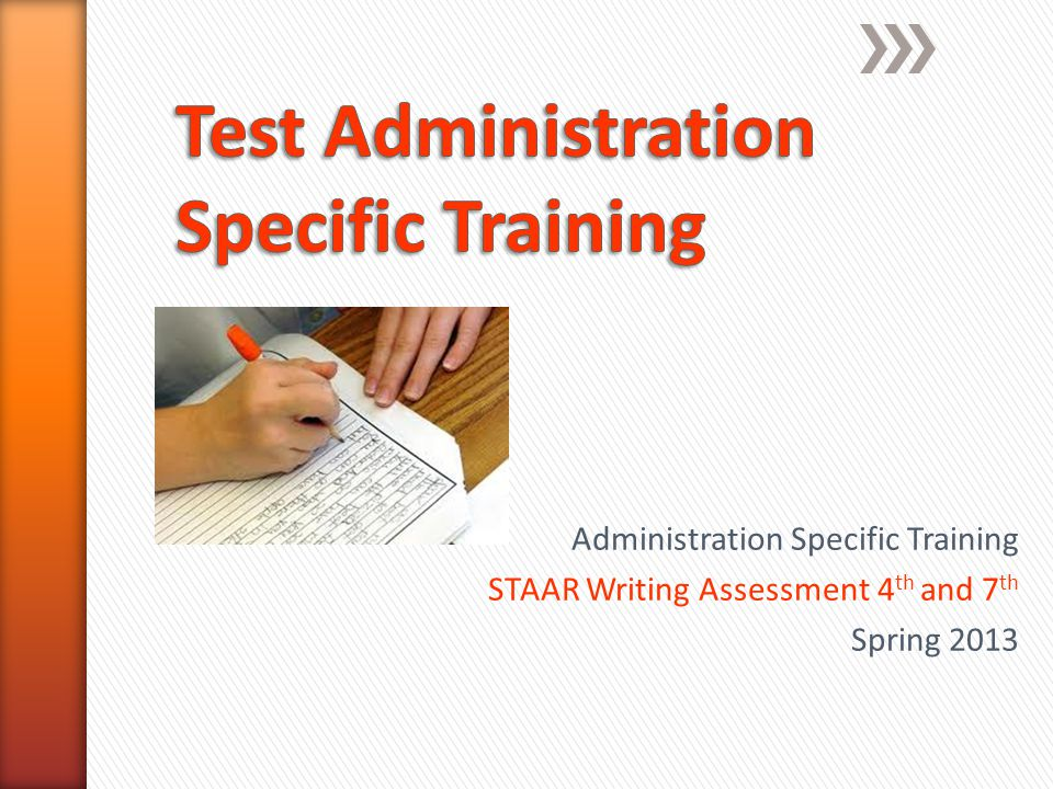 Test Administrators Record start/end time Actively monitor Check/remind students to record answers Do not comment or examine responses Collect materials Separate test booklets and answer docs Return all materials to campus coordinator