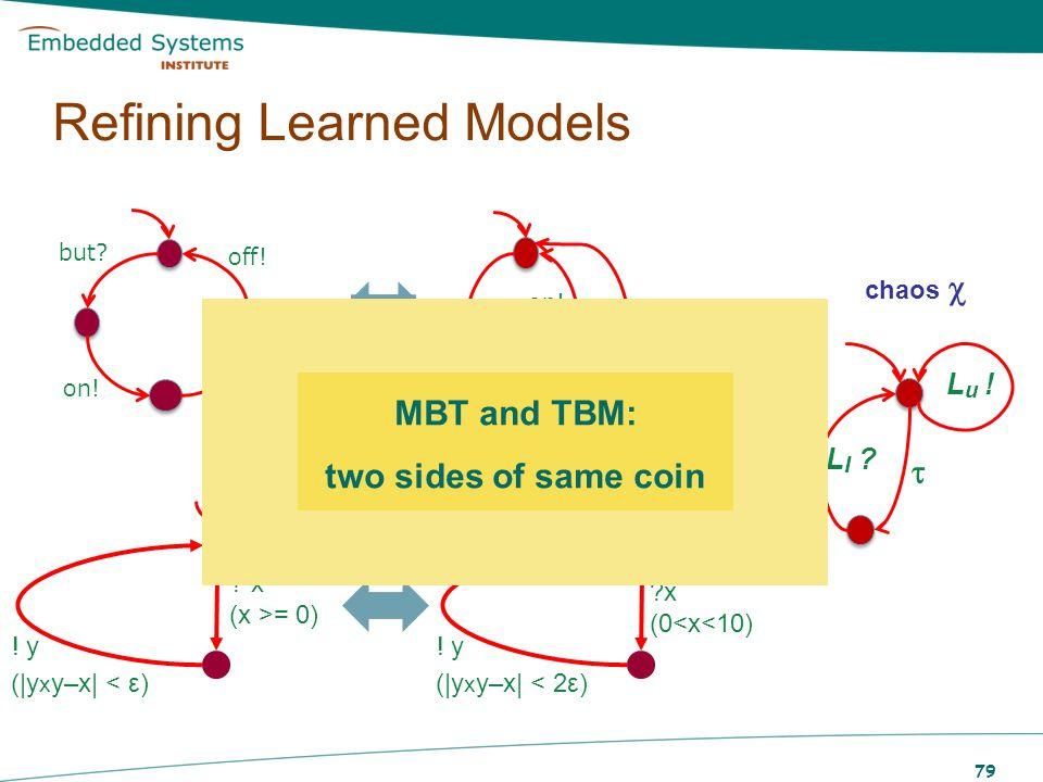 Test-Based Modelling Algorithms, Active: –D.