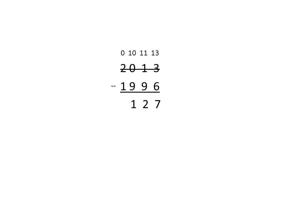 0 10 11 13 2 0 1 3 1 9 9 6 1 2 7 --