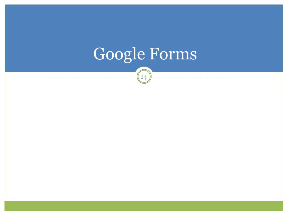 Google Forms 14