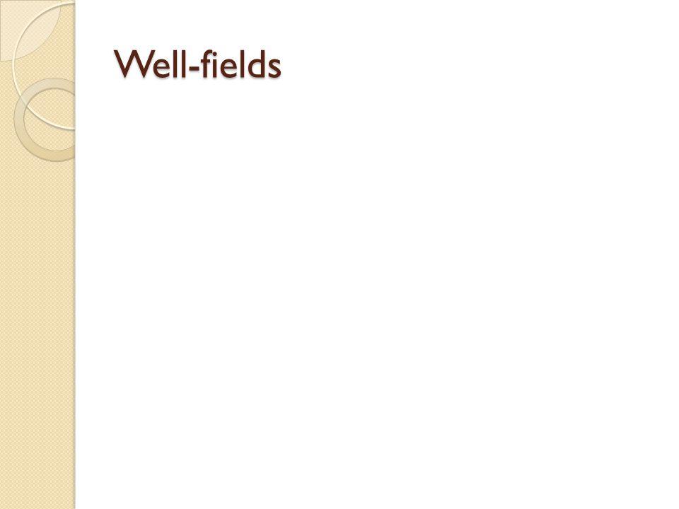Well-fields