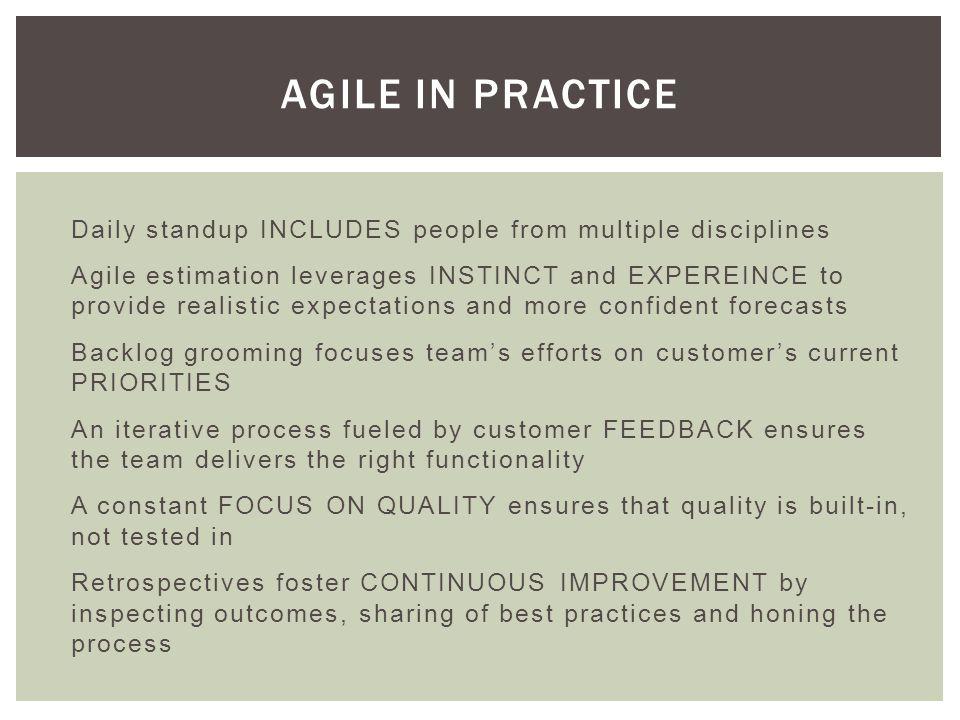 Succeeding with Agile Mike Cohn $35 on Amazon RESOURCES http://www.amazon.com/Succeeding-Agile-Software-Development-Using/dp/0321579364
