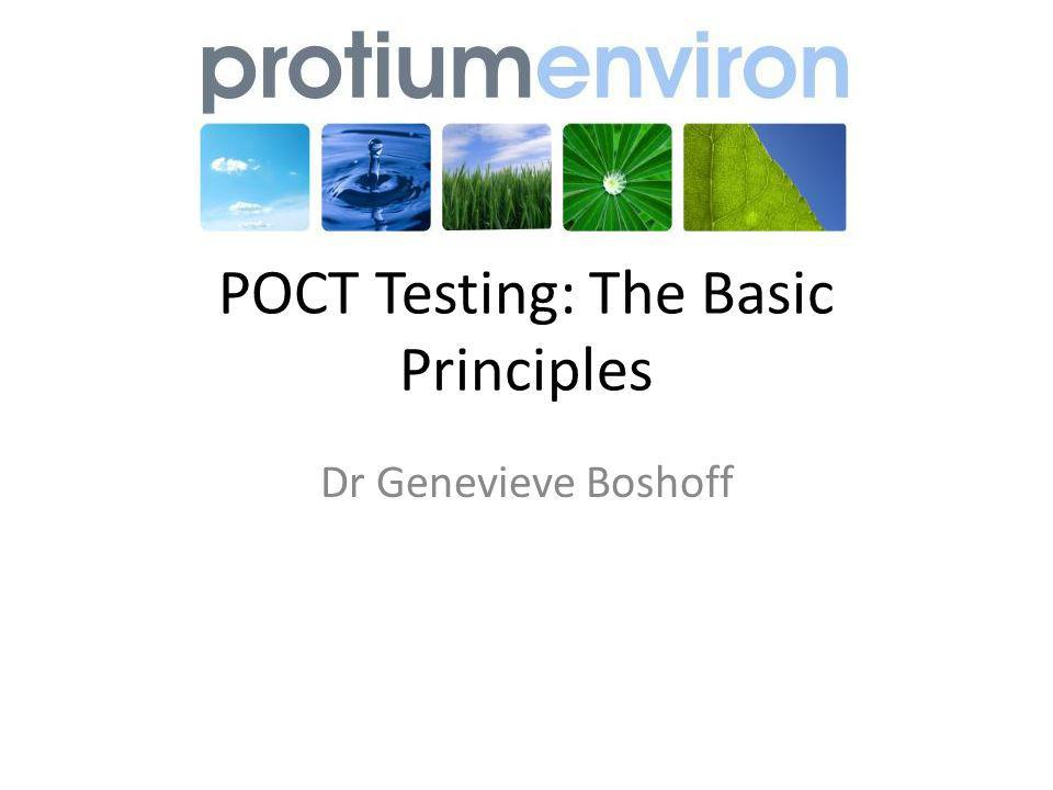 Specificity The ability of the kit to detect the analyte of interest and not other compounds Number of negative samples determined by the POCT devices Number of negative samples determined by the comparison method Ability to detect true positives and few false positives Varies between drugs e.g.