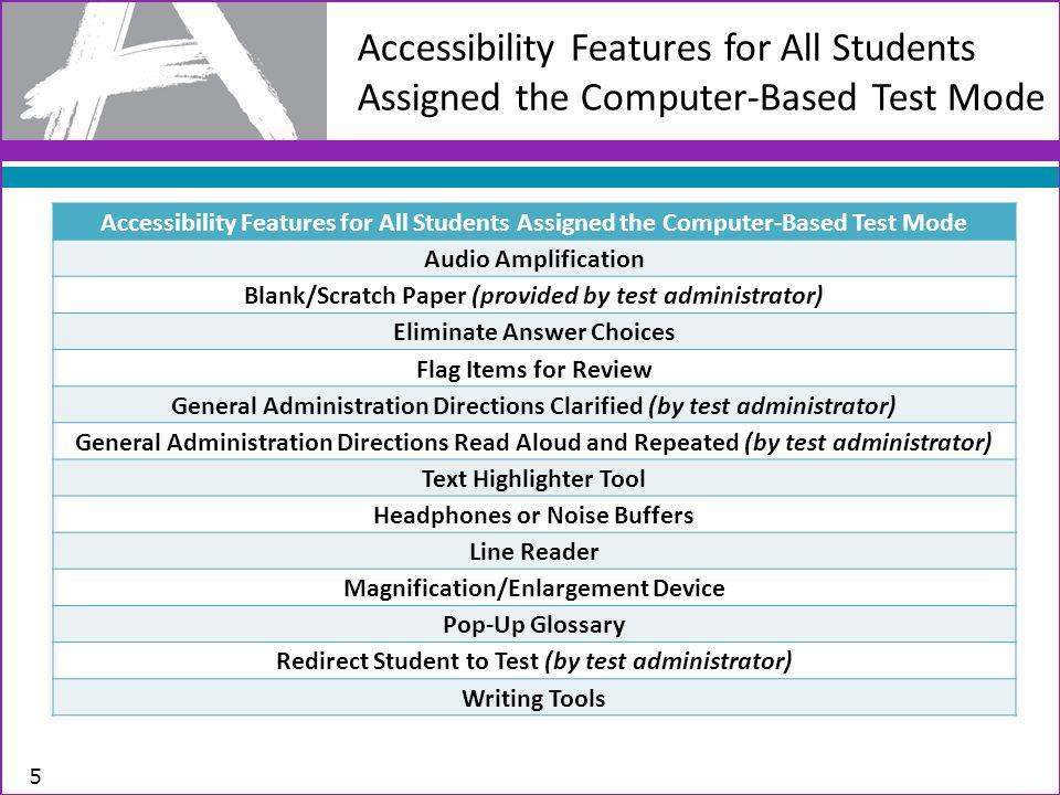Student Registration Details for Paper and Pencil Test Format 16