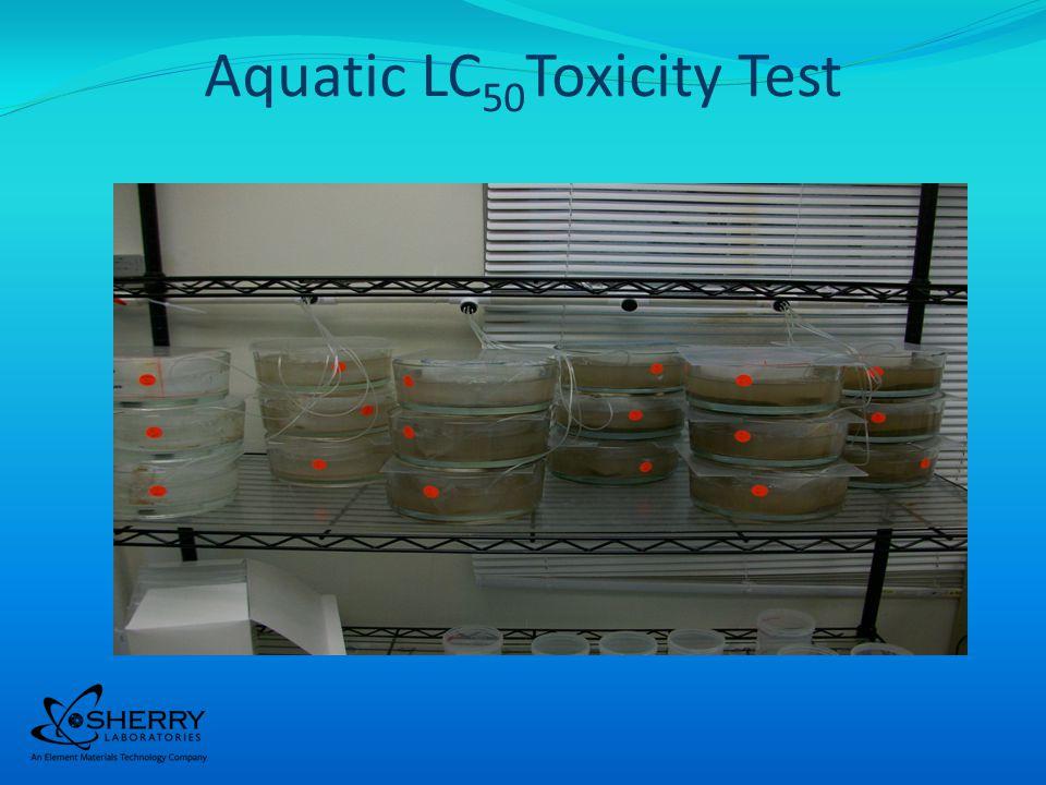Aquatic LC 50 Toxicity Test