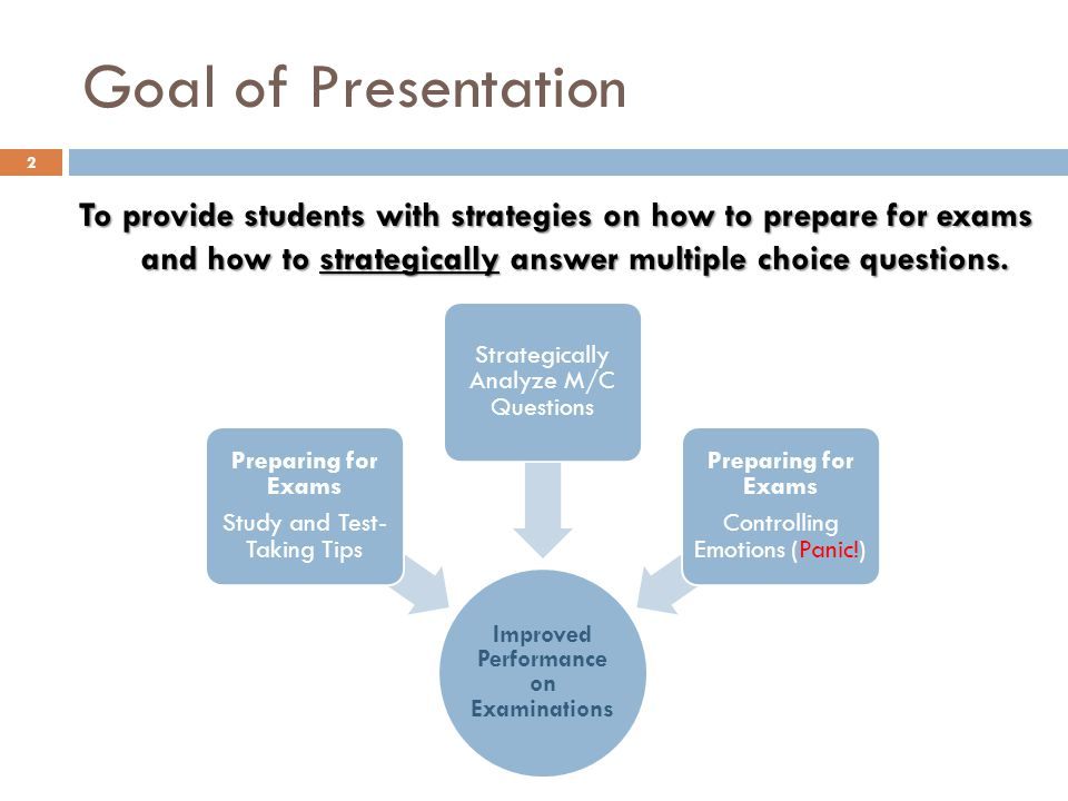 About Multiple Choice Questions Most commonly used objective test question.