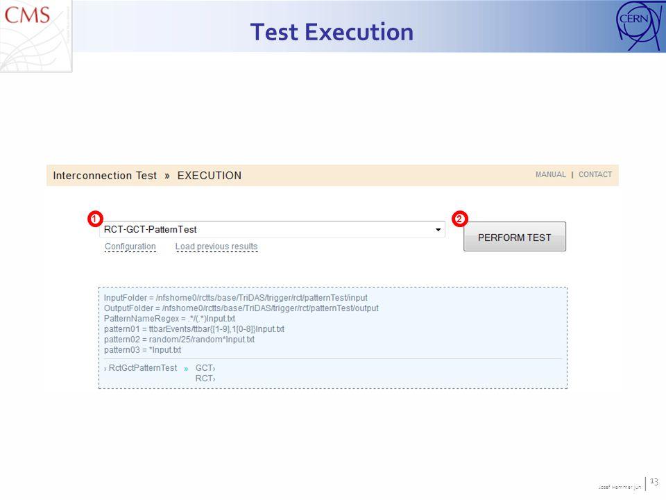 Josef Hammer jun. | 13 Test Execution 12