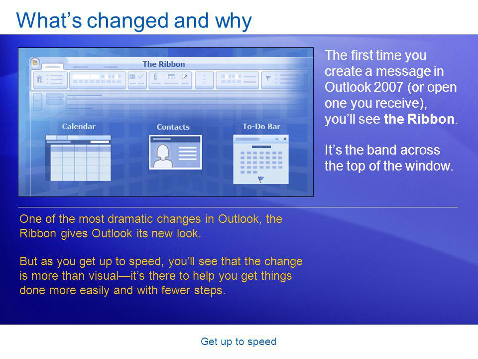 Get up to speed Test 3, question 3 In the 2007 Office release, many programs use a new file format.