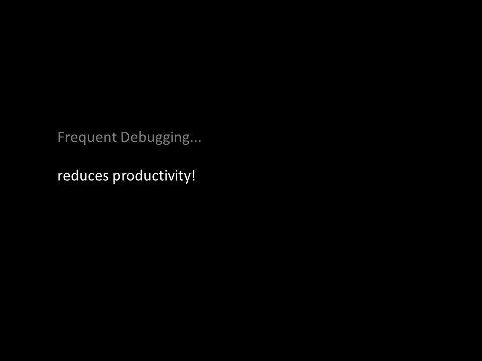 reduces productivity!