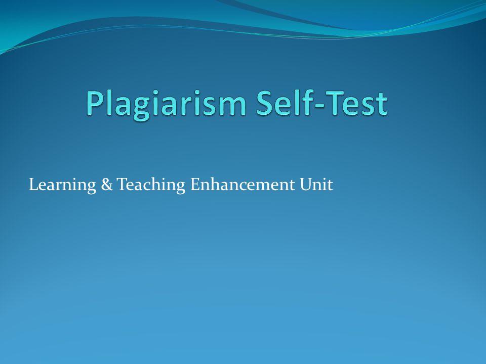 Learning & Teaching Enhancement Unit