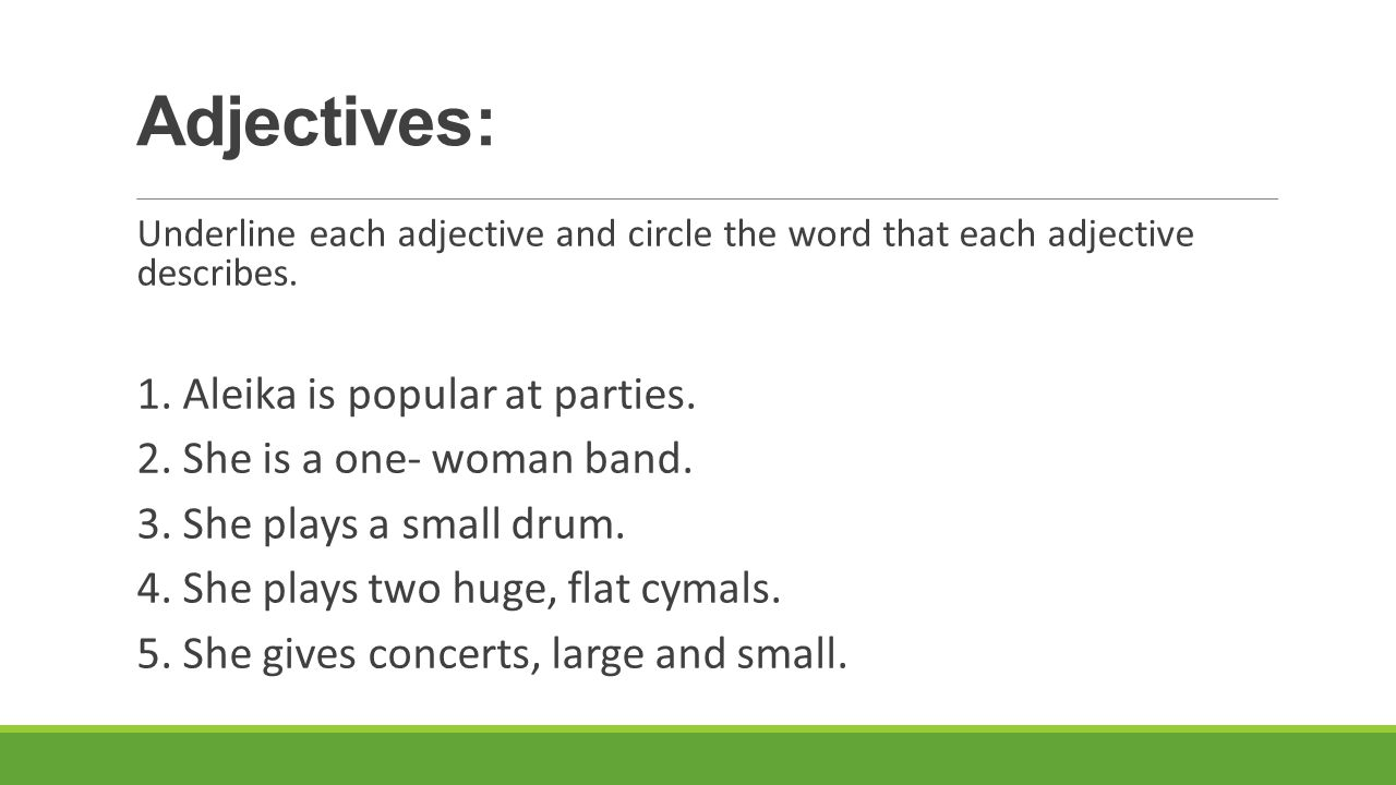 Articles and Demonstratives: Circle the correct articles and demonstrative adjectives.