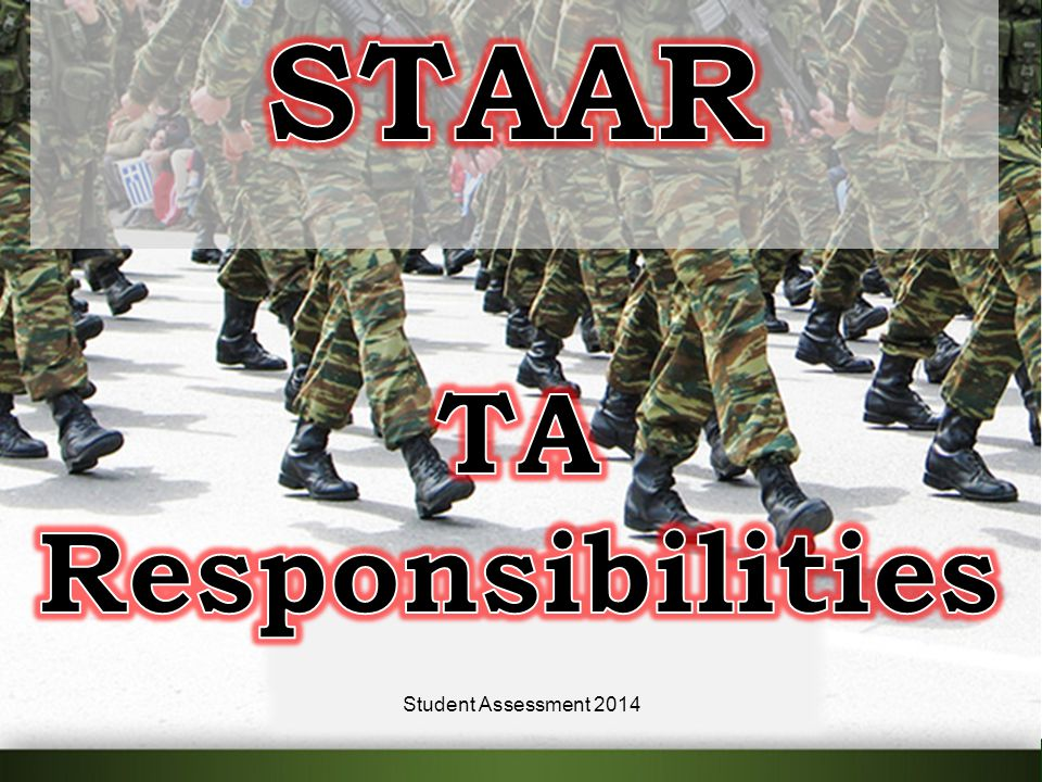 14Student Assessment 2014