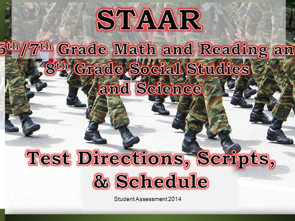 5Student Assessment 2014