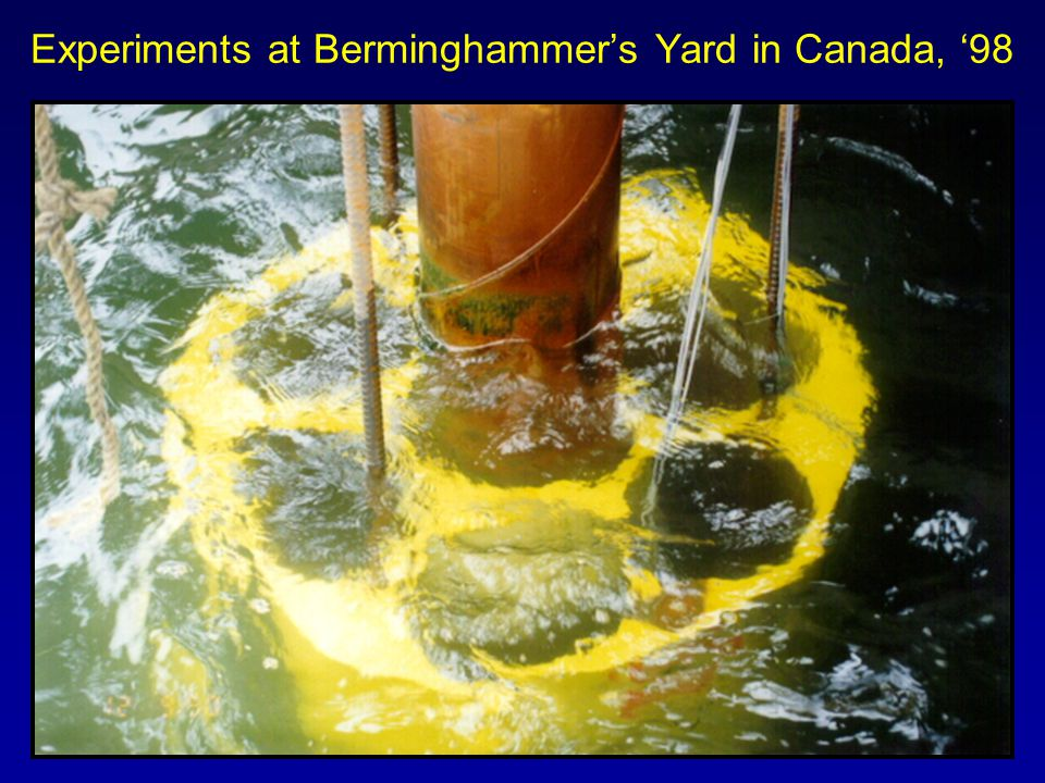 Experiments at Berminghammers Yard in Canada, 98