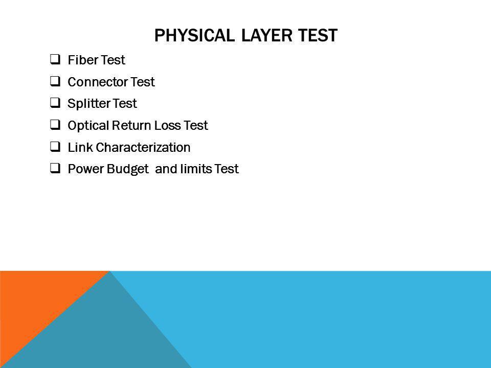 FIBER TEST