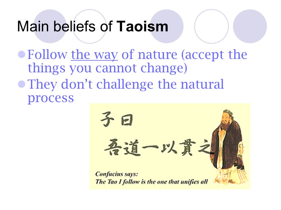 Holy Text for Taoism Tao Te Ching Founder of Taoism Lao-Tse (604-531 BCE), a contemporary of (lived at the same time as) Confucius. He was searching f