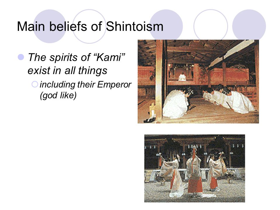 Holy Text for Shintoism (copy into table) No single one – they have several they refer to They have no moral code, but usually follow Confucianism bel
