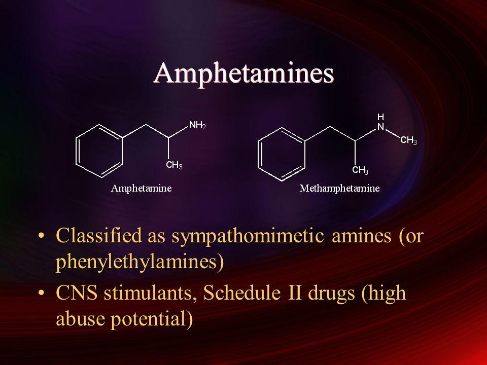 Sympathomimetic amines