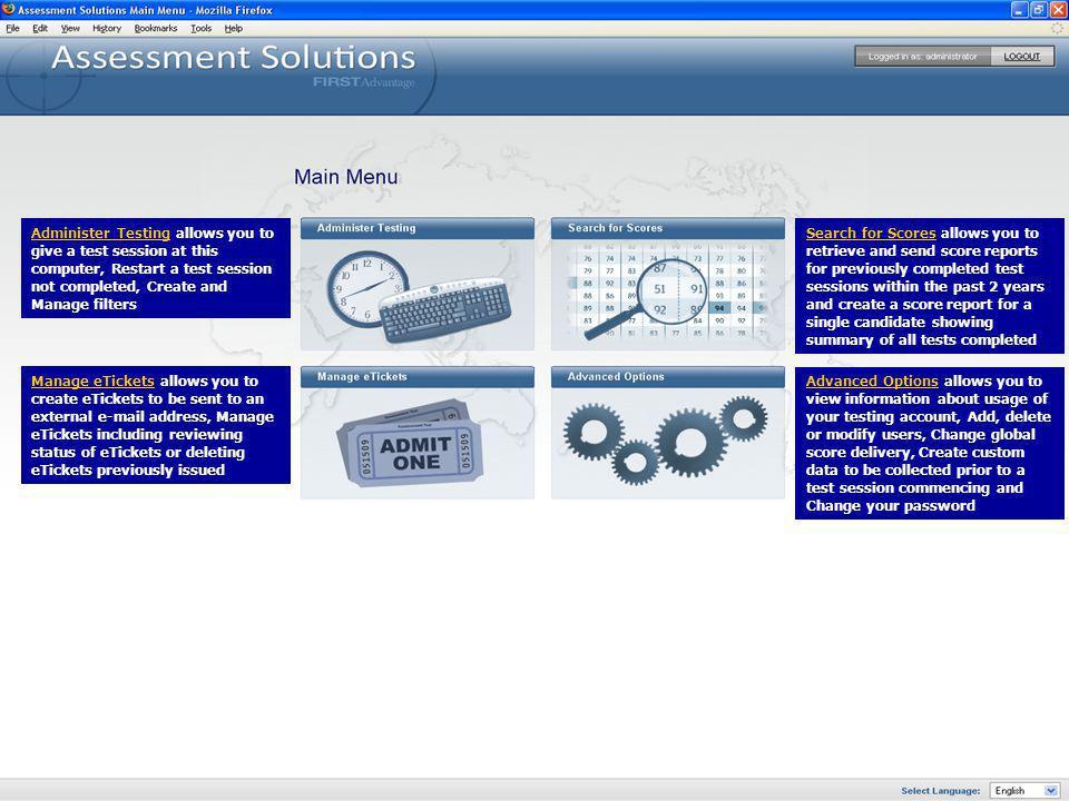 Modify An Existing Filter allows you to modify an existing filter.