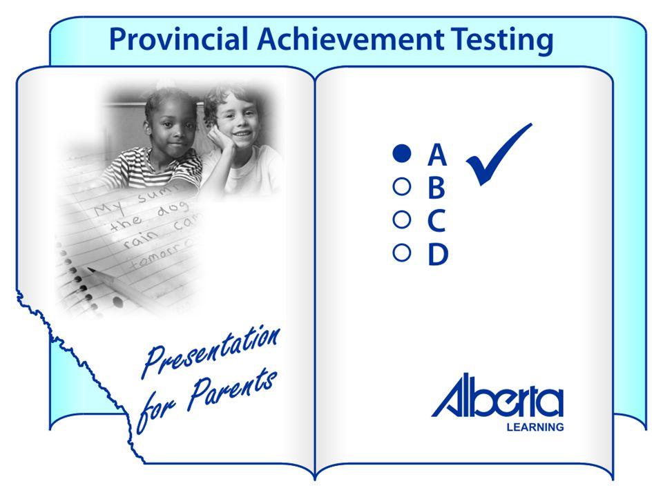 School Results – Grade 6 Results School Targets School Results 2005 Provincial Results English Language ArtsAcceptable90.5%85.9% Excellence Below Acc.