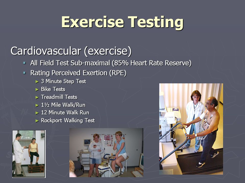 Exercise Testing Body Composition Cont… Ideal Body Weight = LBM.
