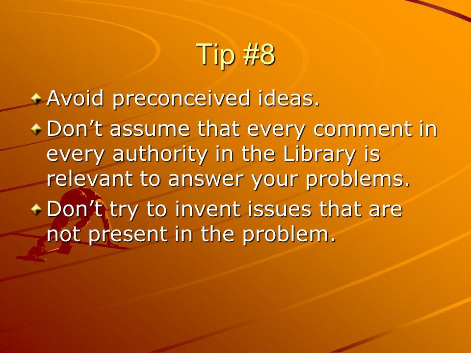 Tip #9 WRITELEGIBLY