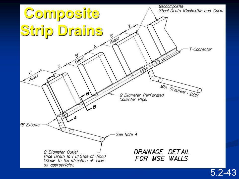 5.2-42 Geo-composite Sheet Drain