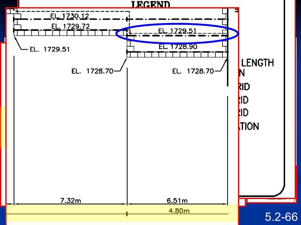 5.2-65 Reinforcing DExcavation Facin g Reinfo rcing Barrier