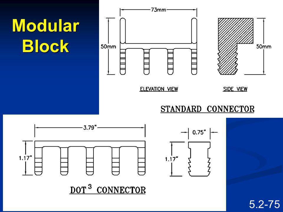 5.2-74 Modular Block