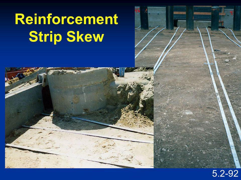 5.2-91 Reinforcement Strip Skew