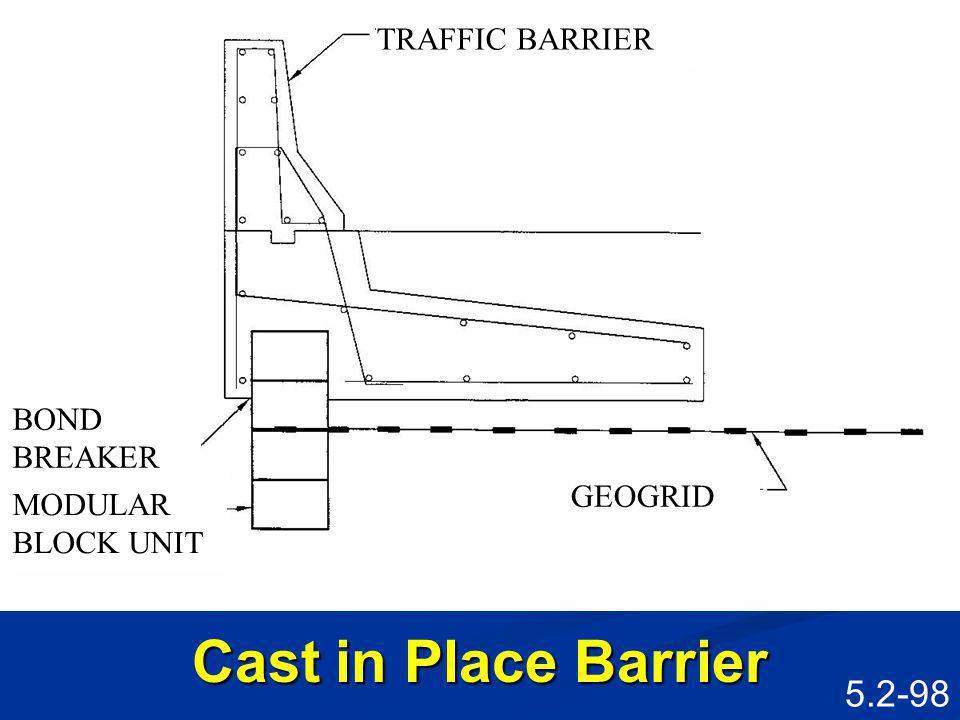 5.2-97 Precast Barrier