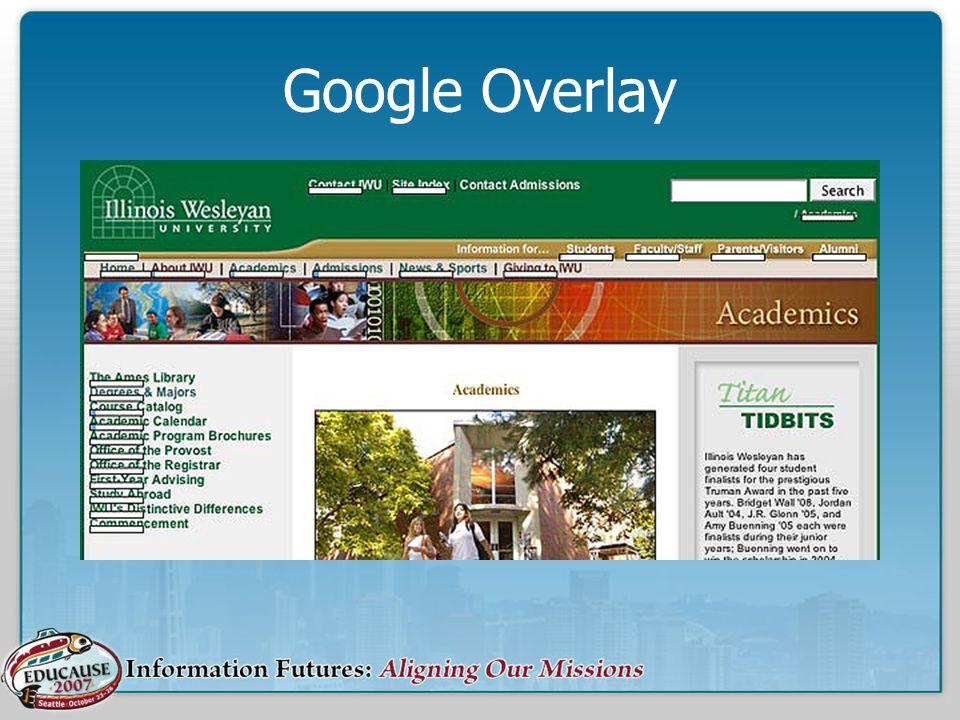 Google Overlay