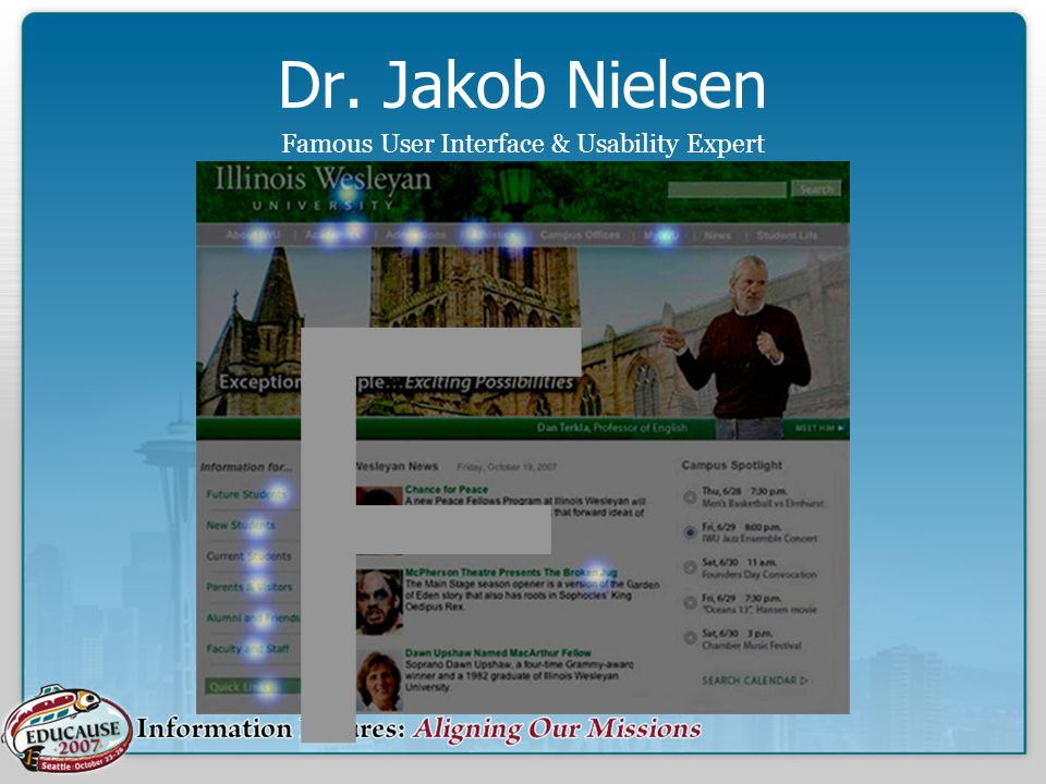 Dr. Jakob Nielsen Famous User Interface & Usability Expert F