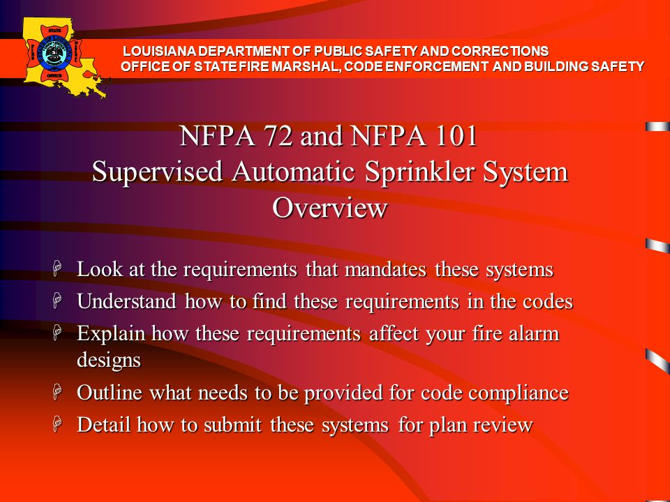 H What is the difference between an approved automatic sprinkler system and approved supervised automatic sprinkler system.