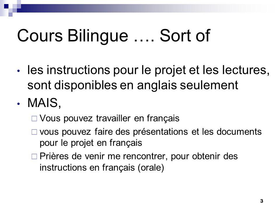 3 Cours Bilingue ….