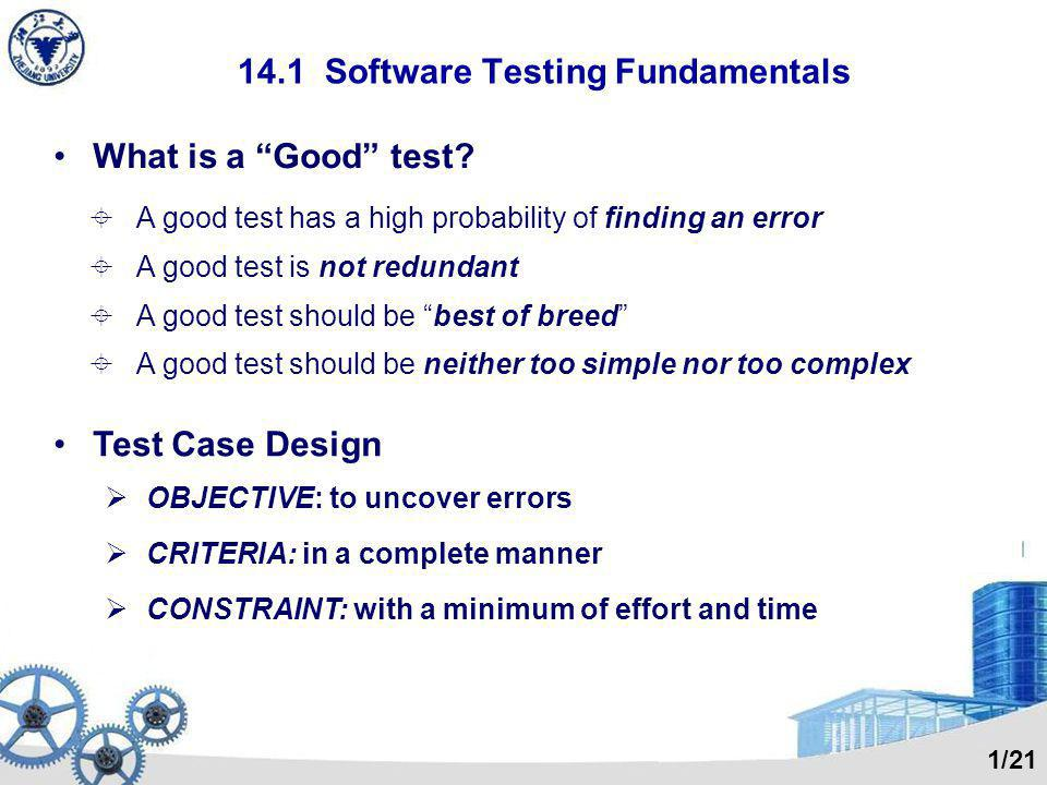 Final Words About Testing Testing never ends, it just gets transferred from you [ the software engineer ] to your customer.