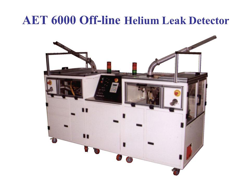 AET 1800 On-line Helium Leak Detector
