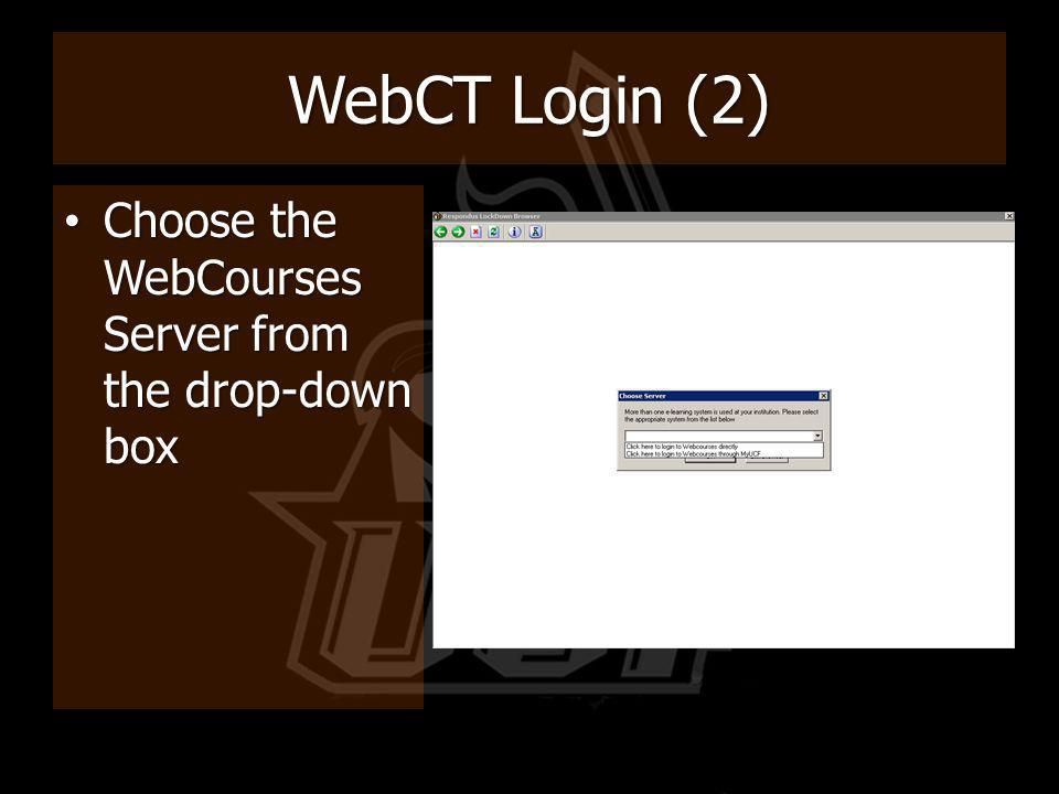 WebCourses Login (3) Enter your NID Enter your NID Enter your Password Enter your Password If you have forgotten your password, please follow the Changing your NID password link to reset If you have forgotten your password, please follow the Changing your NID password link to reset Then click OK Then click OK NID