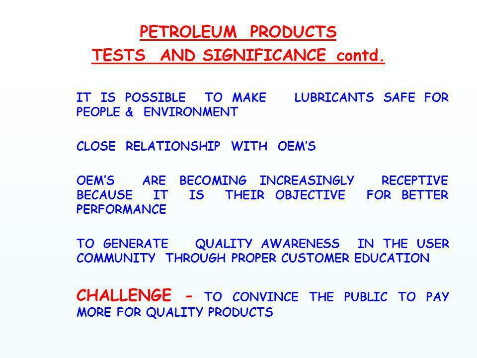 POUR POINT : ASTM D 97/ IP 15 /IS 1448 P :10 EQUIPMENT : CLOUD & POUR TEST CABINET, STD.