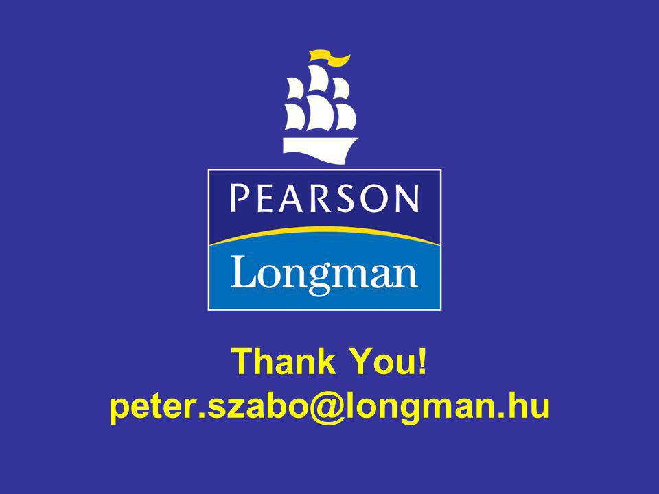 Thank You! peter.szabo@longman.hu